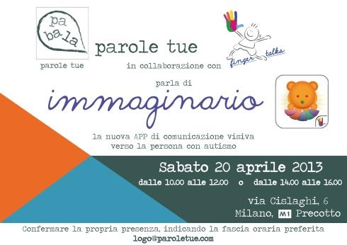 ParoleTue presenta Immaginario