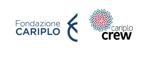 logo fondazione cariplo + crew